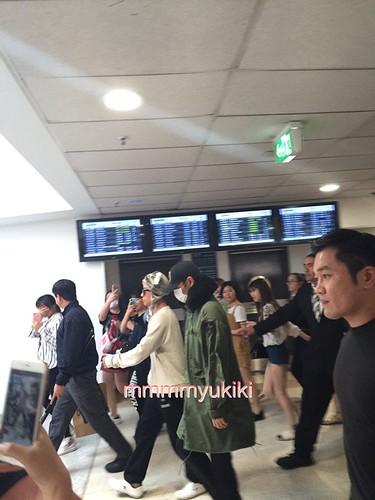 BIGBANG arrival Melbourne 2015-10-20 (25)