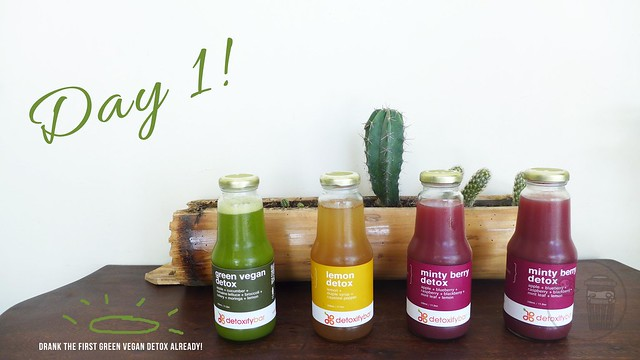 juice cleanse with detoxify bar