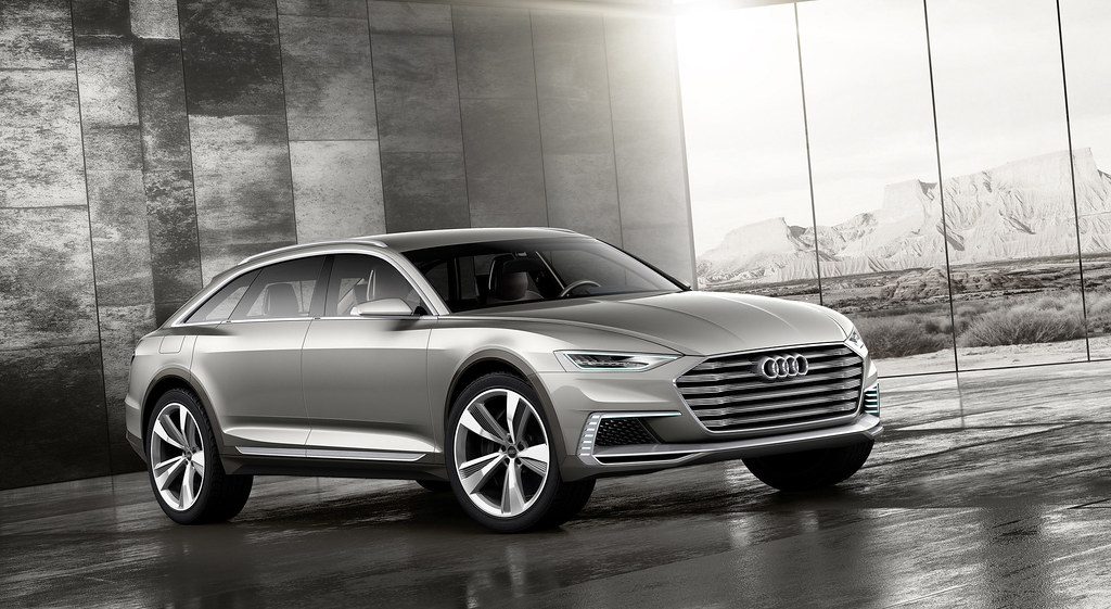 Audi prologue allroad scales new heights in Shanghai