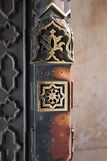 صورة Taj Mahal قرب Āgra. door white pattern taj mahal tajmahal agra marble brass