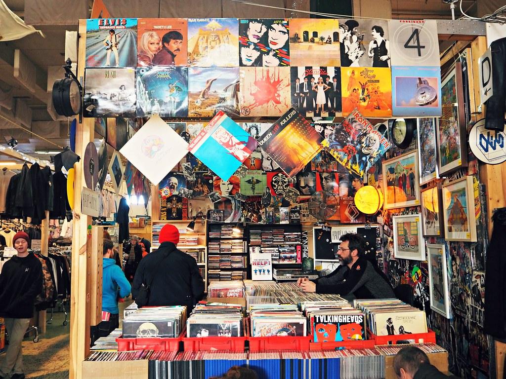 Reykjavik Iceland Indoor flea market