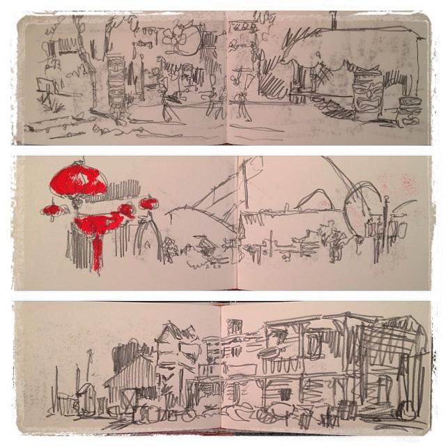 #urbansketch #portaventura