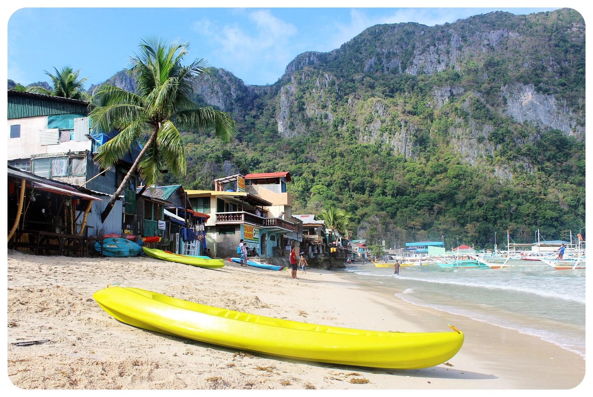 el nido kayak