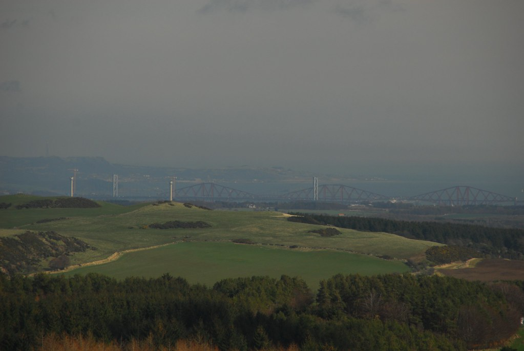 Forth Bridges from Cairnpapple Hill