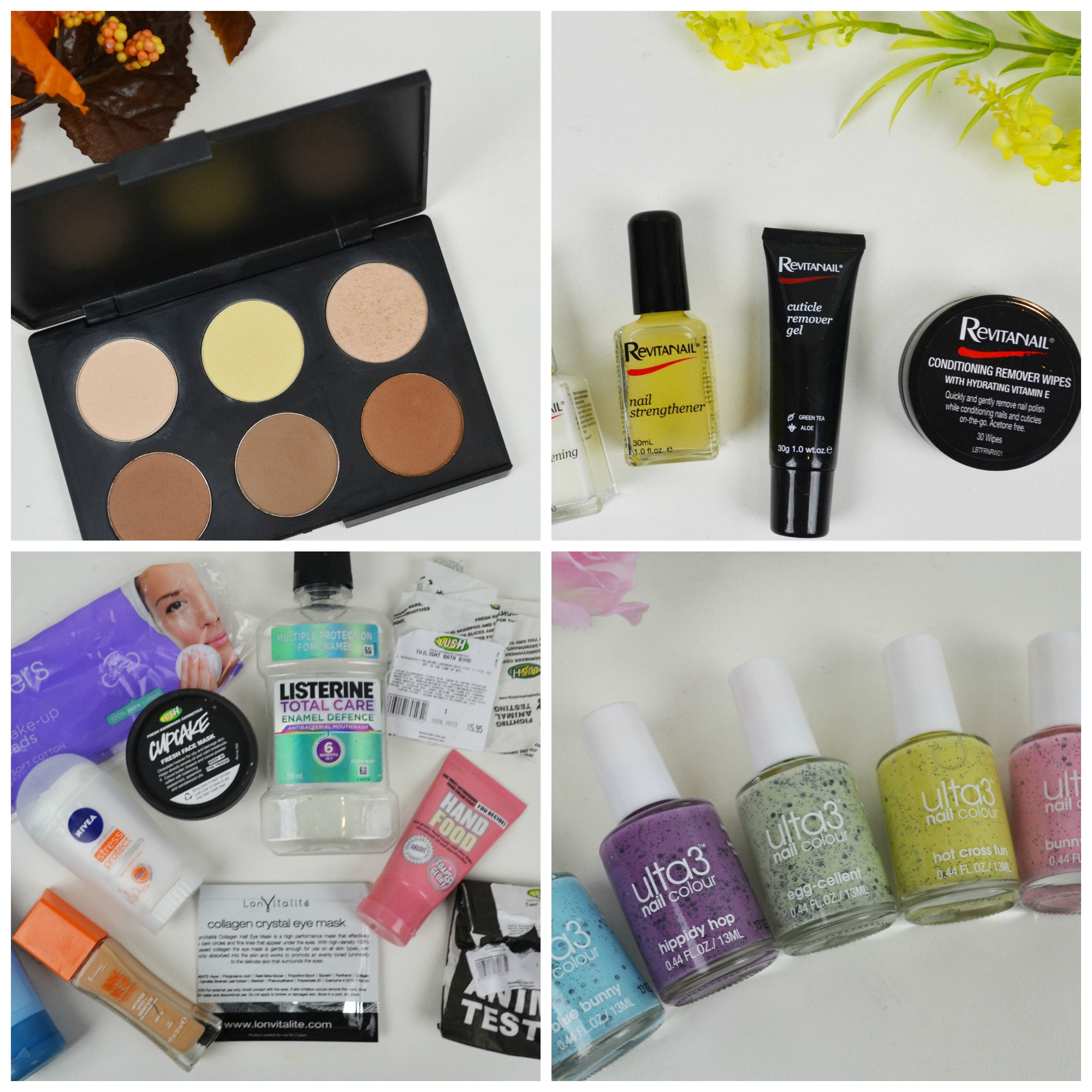 Weekly Round Up, Australis, Revitanail, Empties, Ulta 3
