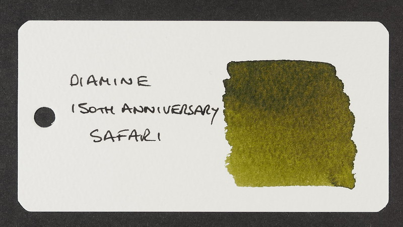 Diamine 150th Anniversary Safari - Word Card