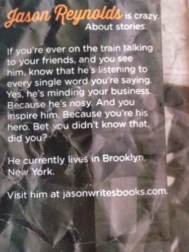 Jason Reynolds bio