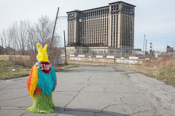 Nick Cave in Detroit