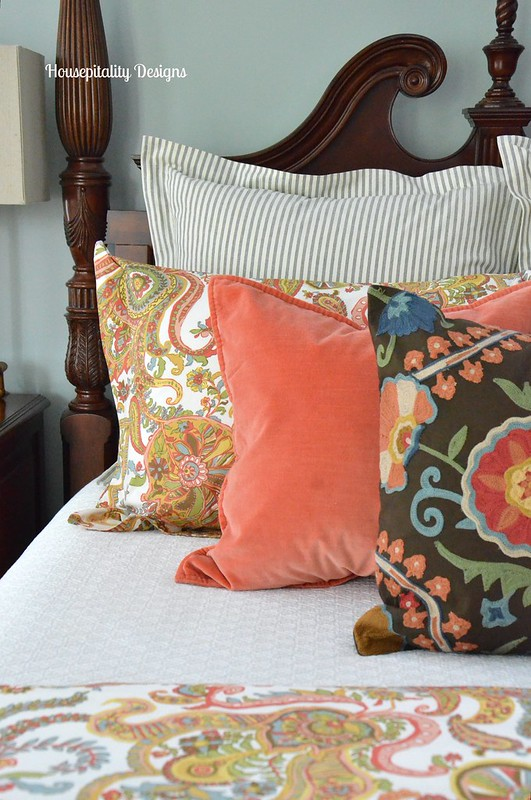 Master Bedroom  Pillows by Pottery Barn-Housepitality Designs