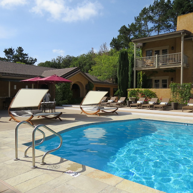 Pool Area at Bernardus Lodge & Spa