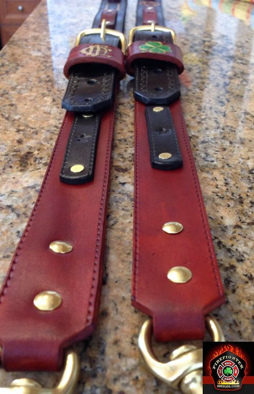 Two tone radio strap lowers with extra mic/accessory hook