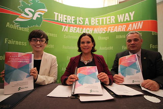 Senator Kathryn Reilly, Mary Lou McDOnald TD & Aengus Ó Snodaigh TD