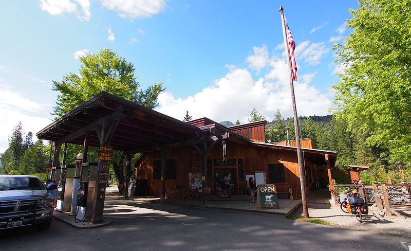 Mazama Country Store: I got there a while before Kyle did, and ate quite a bit while there.  I also picked up a couple of pints of beer for Kyle, since he didn't get there until just after it closed.