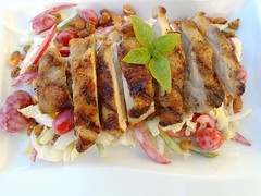 GRILLED CHICKEN SALAD – GRILLED CHICKEN ON A HIGHER LEVEL