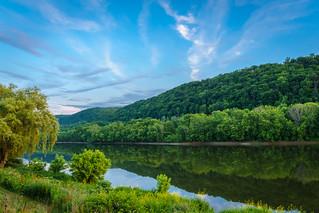 Susquehanna River landscape