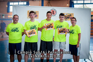 Campió Sub 16 3x3NBAlzira 2016