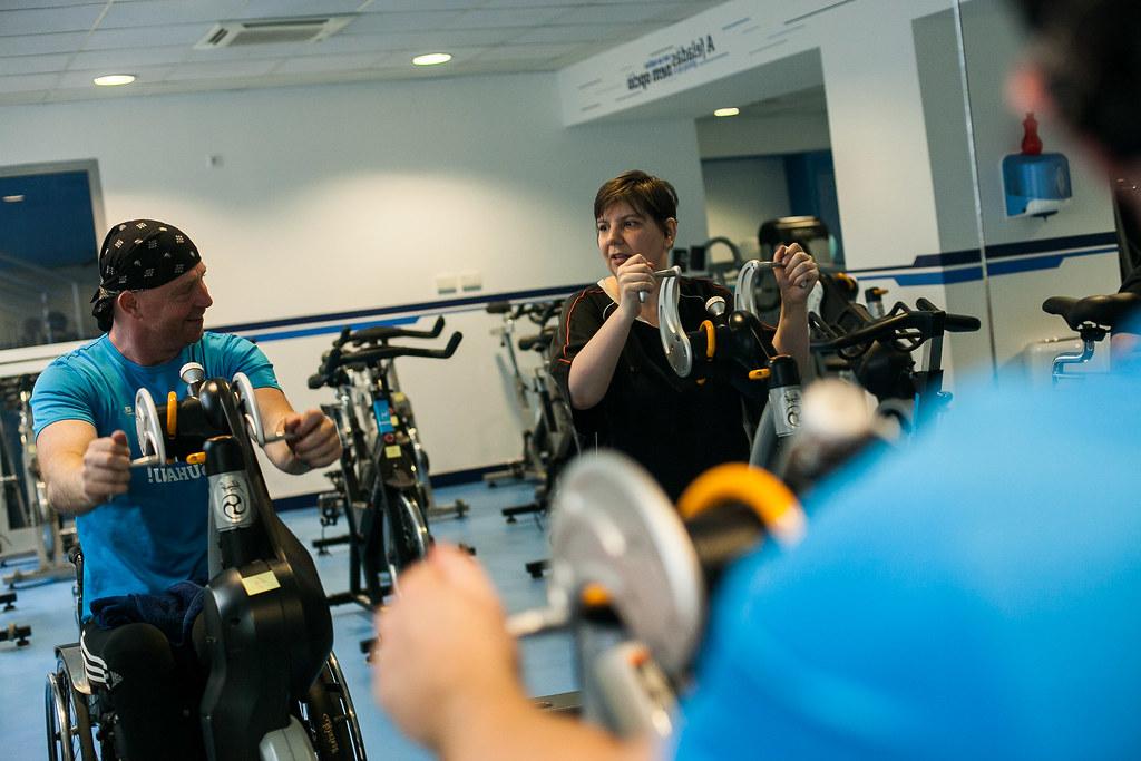 Suhanj fitness és fogyatékkal élők sportolása