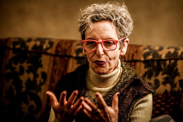 """Raquel Rolnik esteve em Curitiba para o lançamento de seu livro """"Guerra dos Lugares"""" e participou do Circo da Democracia  - Créditos: Fotos: Leandro Taques, para o Jornalistas livres"""
