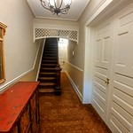 Apartment building entry hall