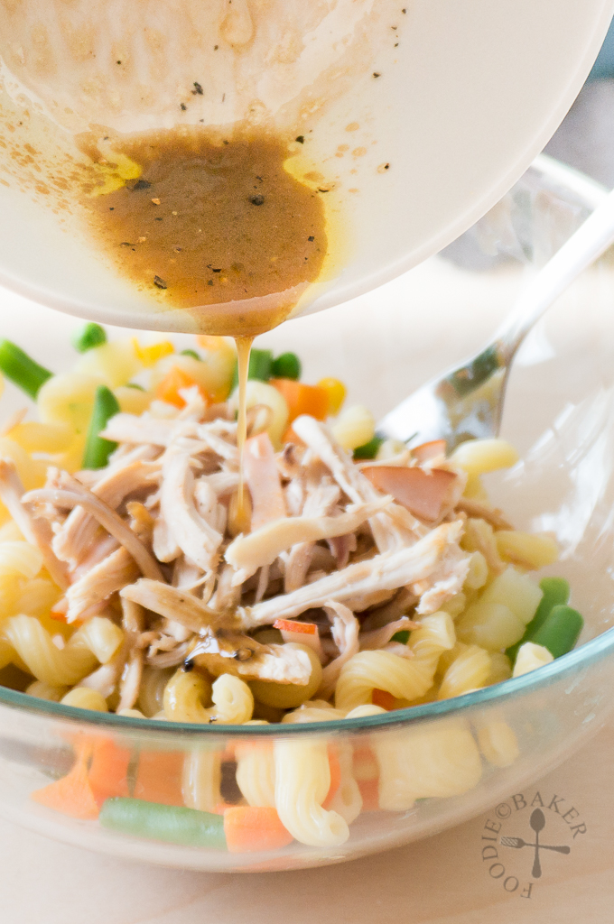 Balsamic-Mustard Salad Dressing