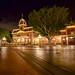 City Hall on a calm night #nikon #disneyland #disney #D610 #longexposure #mainstreetusa