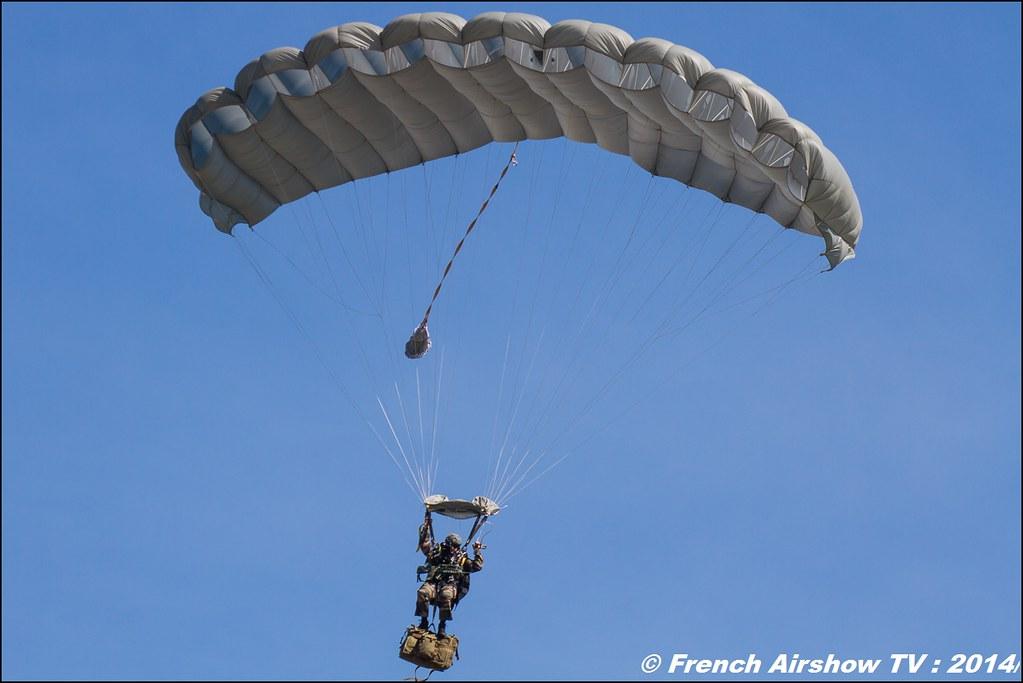 Pilatus PC-6 n 891 & Parachutiste ,60 ans ,ALAT, JPO Gamstat Valence Chabeuil 2014