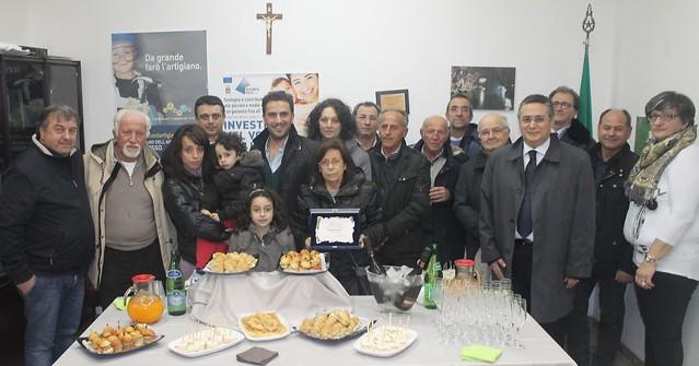 La Confartigianato al fianco dei parenti di Franco Masi