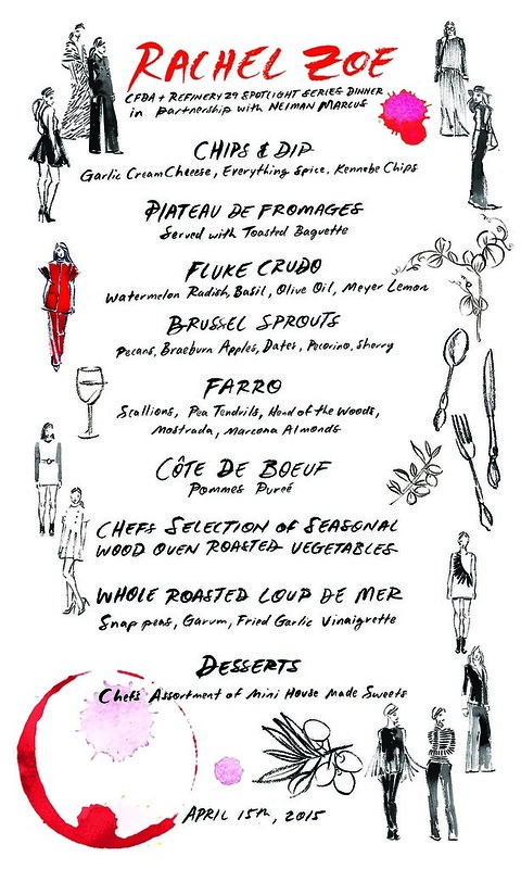 Rachel Zoe menu2