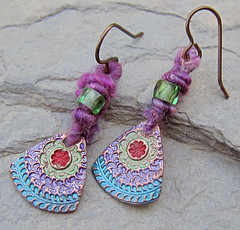 Festive Lilac Earrings