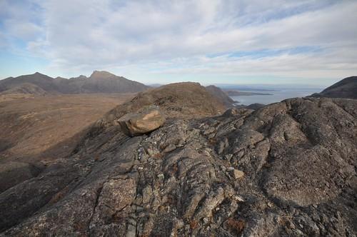 Druim nan Ramh ridge