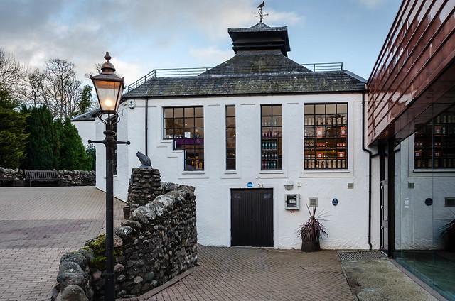 At Glenturret distillery