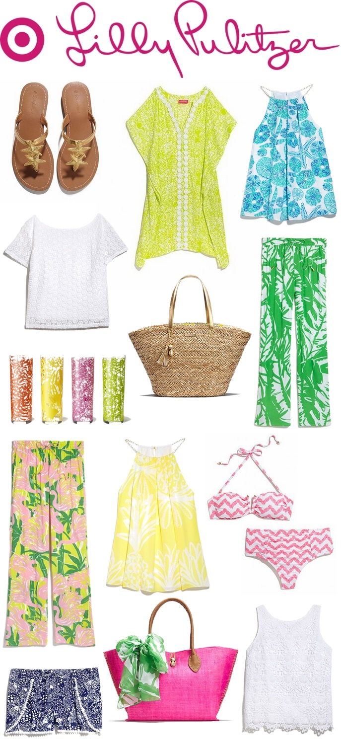 Lilly Pulitzer for Target Collection | #LivingAfterMidnite