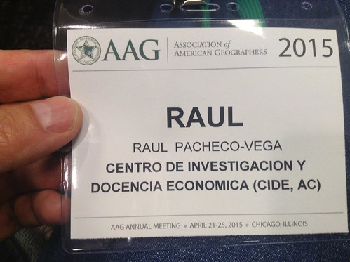 AAG 2015 Association of American Geographers conference
