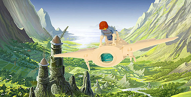 LEGO Nausicaa of the Valley of the Winds