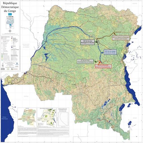 Mbuti exodus to Lomami