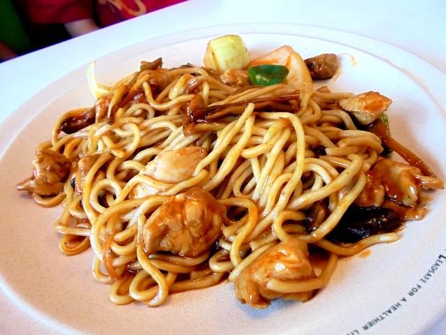 SCR Szechuan chicken noodles