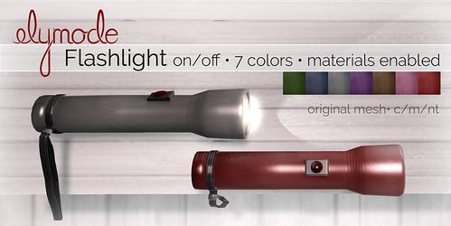 elymode flashlight