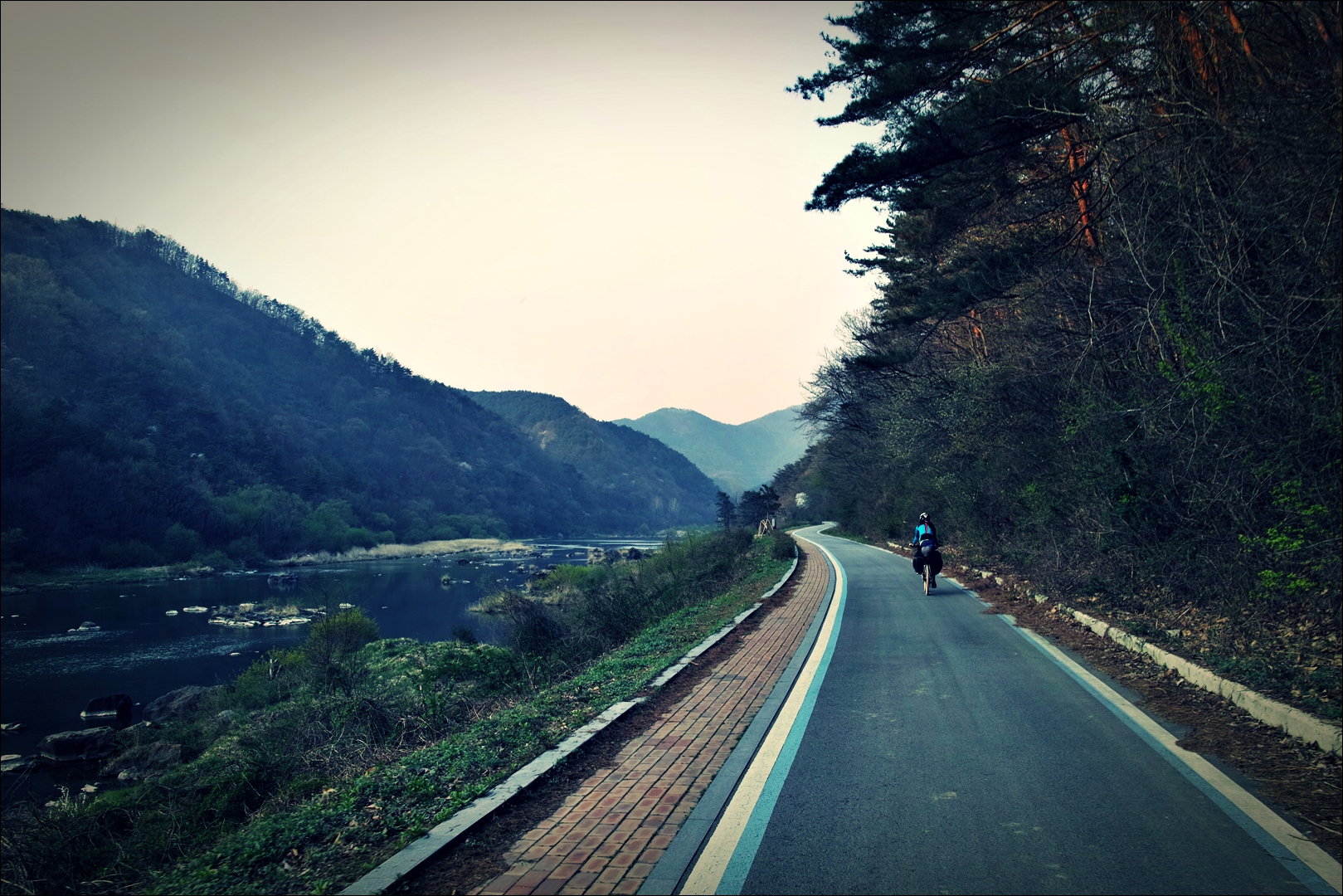 장군목 구간-'섬진강 자전거 여행'