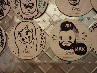 coaster drawings @ Royal Albert Hotel