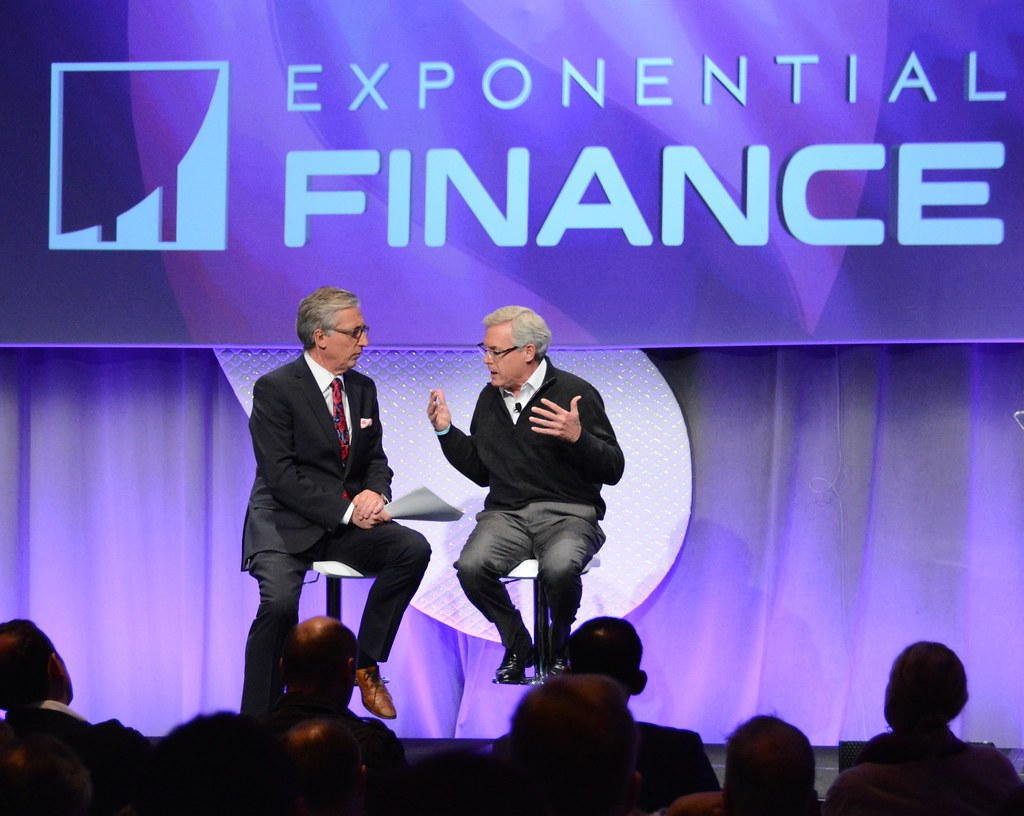 CNBC's the Disruptors, Bob Pisani, Hardeep Walia, Bill Harris..Exponential Finance 2015 hosted by Singularity University