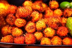 flower(0.0), plant(0.0), autumn(0.0), rambutan(1.0), produce(1.0), fruit(1.0), food(1.0),