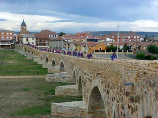 Day 2: Villar de Mazarife to Astorga (31km)