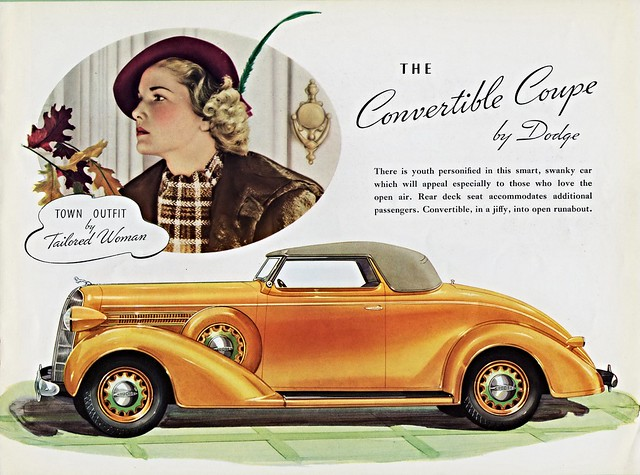 1936 Dodge Convertible Coupe