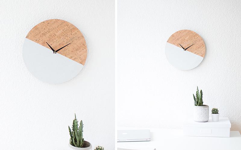 Bí quyết làm đồng hồ treo tường muôn hình vạn trạng dễ như búng ngón tay