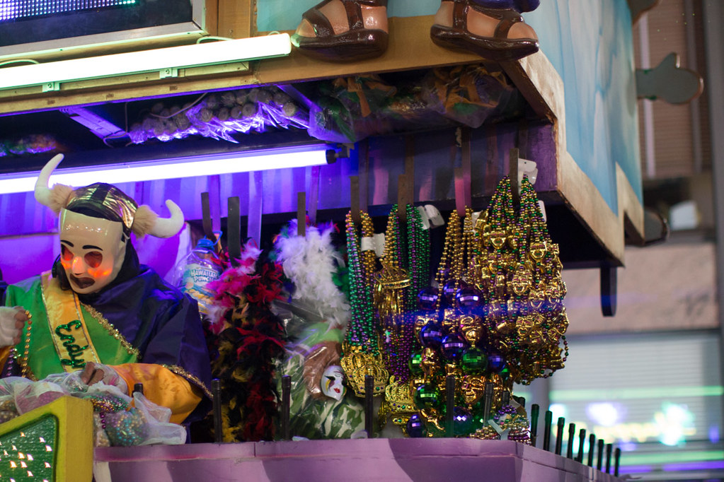 Krewe of Endymion from Place St. Charles reserved seating