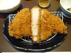 Tonkatsu Lunch @Kastu-Hana-Tei, Misato, Saitama, J…