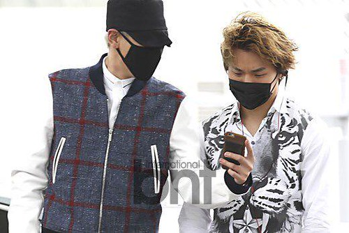 BIGBANG GDTOPDAE departure Seoul to Hangzhou Press 2015-08-25 106
