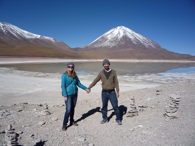 Laguna Verde and Mt. Licancabur