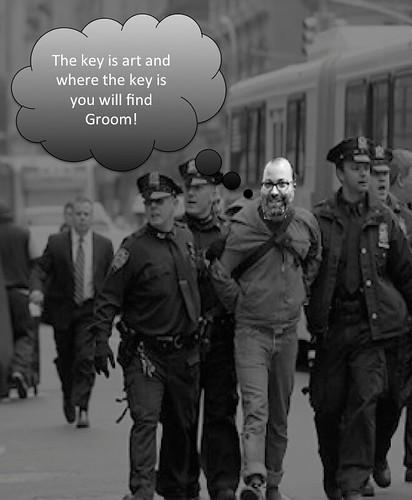 Groom Handcuffed