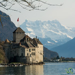 Chateau Chillon - Montreux, Switzerland